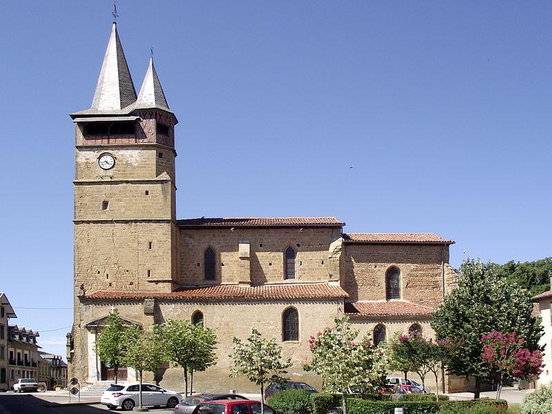 Photo du Monument Historique Eglise situé à Castelnau-Magnoac
