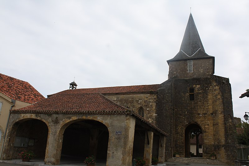 Photo du Monument Historique Eglise situé à Castelnau-Rivière-Basse