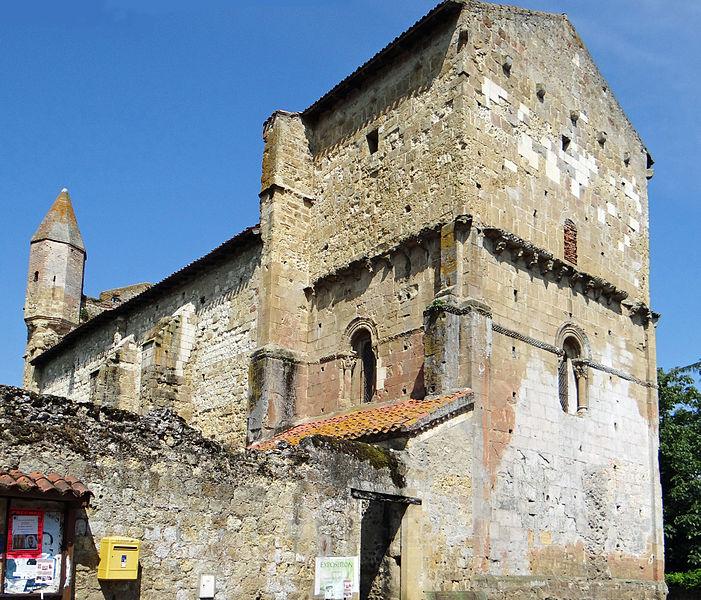 Photo du Monument Historique Eglise de Mazères situé à Castelnau-Rivière-Basse