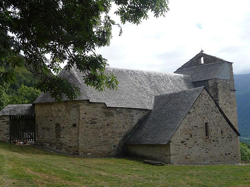 Photo du Monument Historique Eglise Saint-Calixte situé à Cazaux-Fréchet-Anéran-Camors