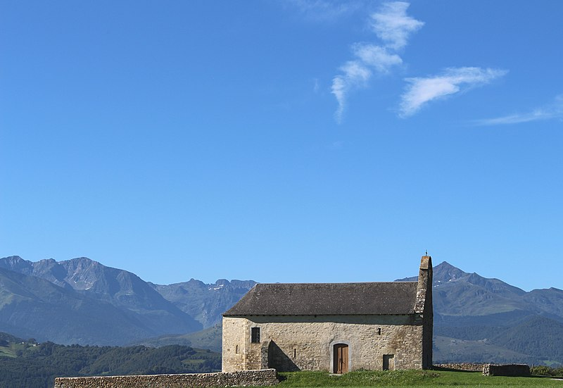 Photo du Monument Historique Chapelle Notre-Dame-de-Roumé situé à Cieutat