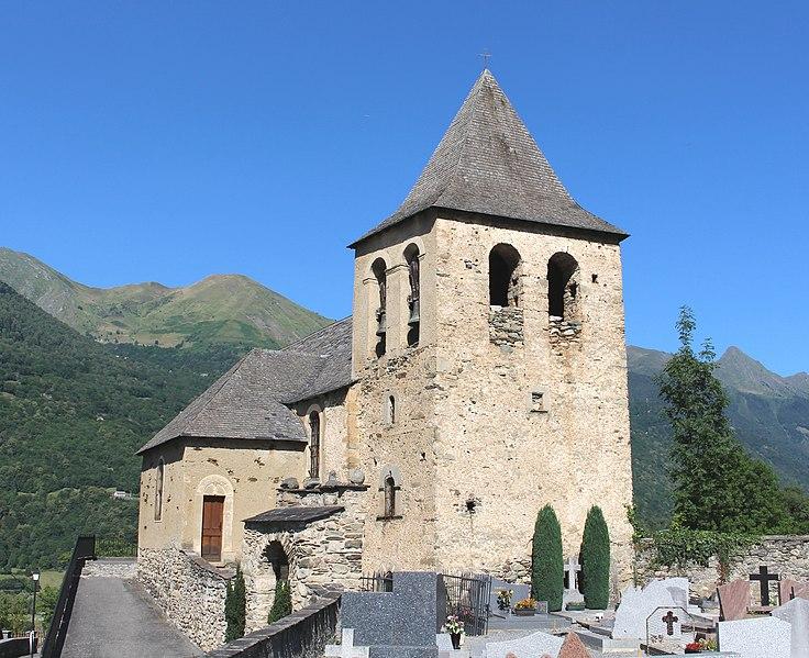 Photo du Monument Historique Eglise d'Esquièze situé à Esquièze-Sère