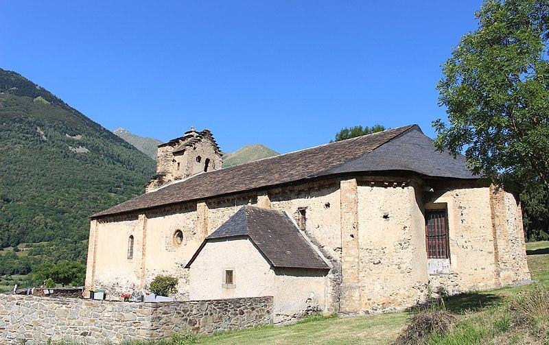 Photo du Monument Historique Eglise de Sère situé à Esquièze-Sère