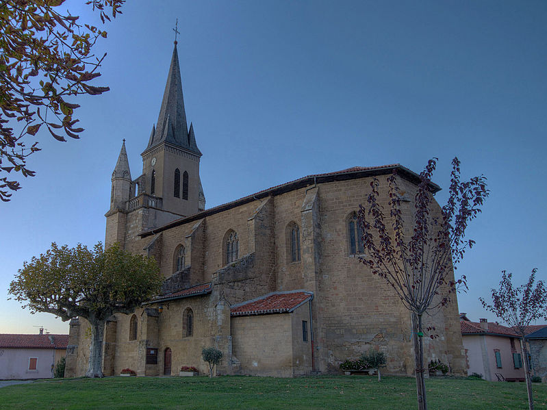Photo du Monument Historique Eglise Saint-Julien situé à Galan