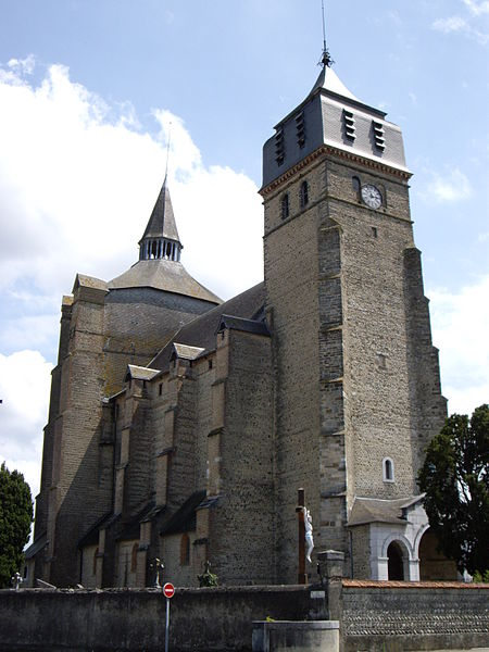Photo du Monument Historique Eglise paroissiale Saint-Laurent situé à Ibos