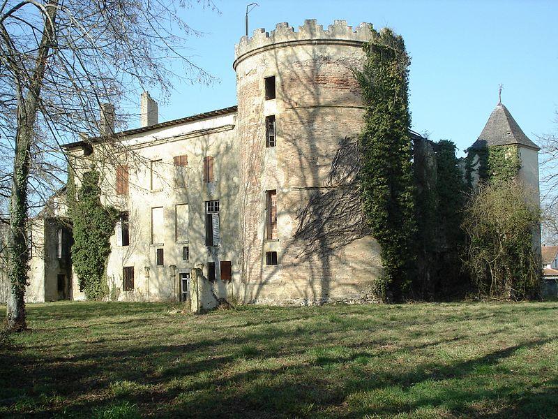Photo du Monument Historique Château de Labatut situé à Labatut-Rivière