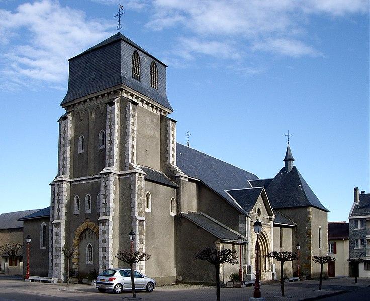 Photo du Monument Historique Eglise Saint-Jean-Baptiste situé à Lannemezan