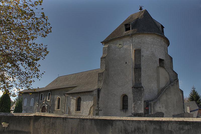 Photo du Monument Historique Eglise Saint-Saturnin situé à Loubajac