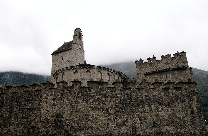 Photo du Monument Historique Eglise des Templiers situé à Luz-Saint-Sauveur