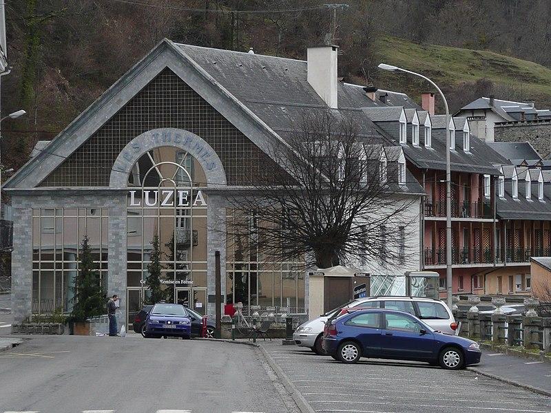Photo du Monument Historique Thermes de Saint-Sauveur situé à Luz-Saint-Sauveur