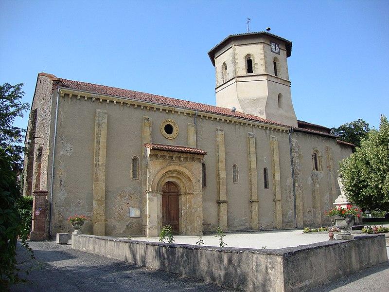 Photo du Monument Historique Eglise de l'Assomption situé à Maubourguet
