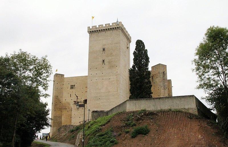 Photo du Monument Historique Château et donjon de Gaston Phoebus situé à Mauvezin