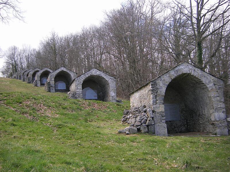 Photo du Monument Historique Calvaire du Mont-Arès situé à Nestier