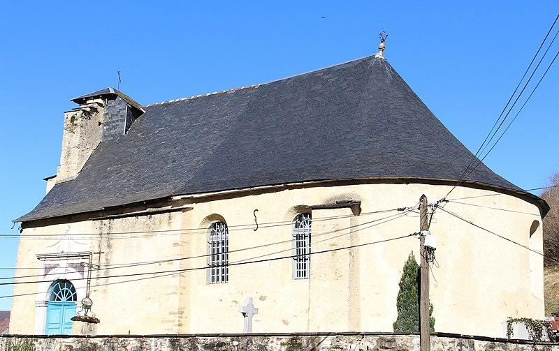 Photo du Monument Historique Eglise situé à Ourdis-Cotdoussan