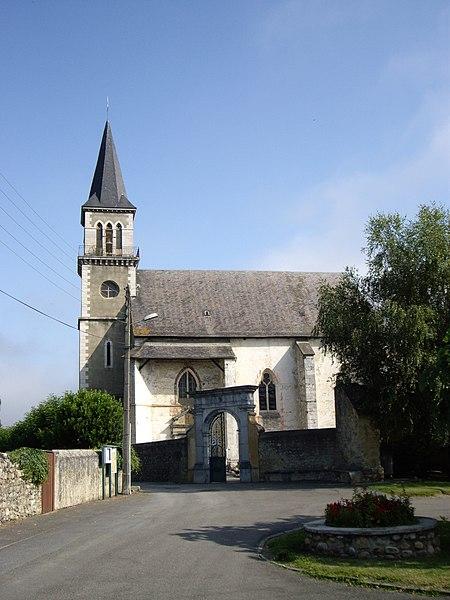 Photo du Monument Historique Eglise Saint-Saturnin situé à Pouzac