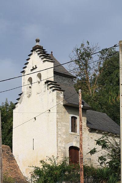 Photo du Monument Historique Ancienne église Sainte-Marie de Lurps situé à Saint-Pastous