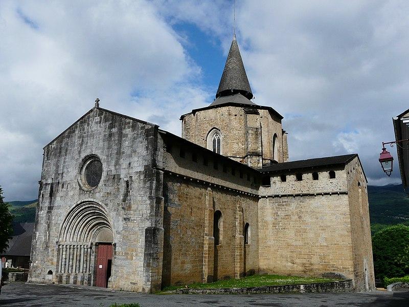 Photo du Monument Historique Eglise Saint-Savin situé à Saint-Savin