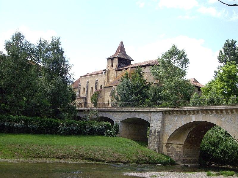 Photo du Monument Historique Ancienne abbaye situé à Saint-Sever-de-Rustan