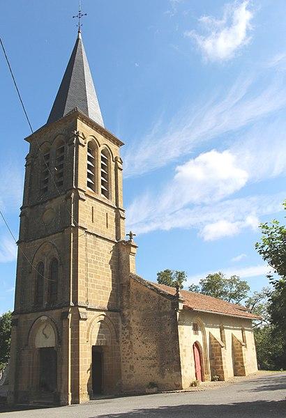 Photo du Monument Historique Eglise de l'Assomption situé à Sariac-Magnoac
