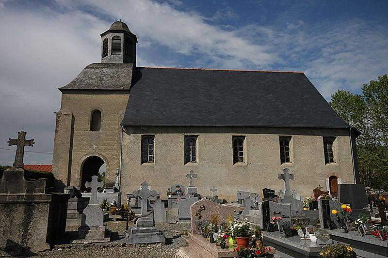 Photo du Monument Historique Eglise situé à Sarniguet