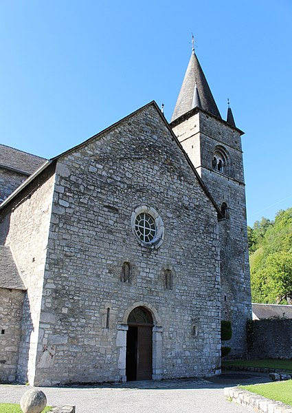 Photo du Monument Historique Eglise Saint-Pierre et Saint-Etienne situé à Sarrancolin
