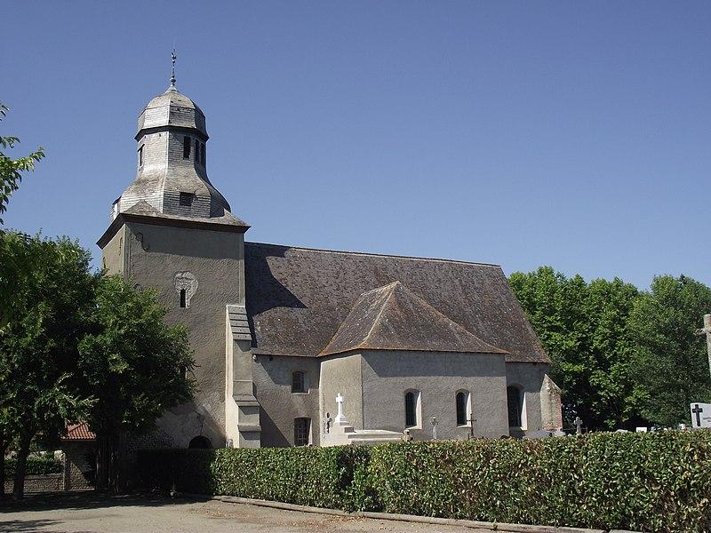 Photo du Monument Historique Eglise situé à Sarriac-Bigorre