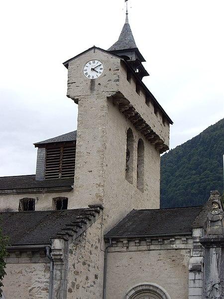 Photo du Monument Historique Eglise situé à Soulom