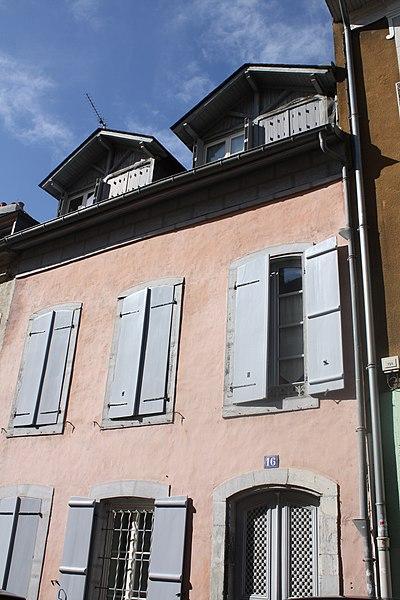 Photo du Monument Historique Maison situé à Tarbes