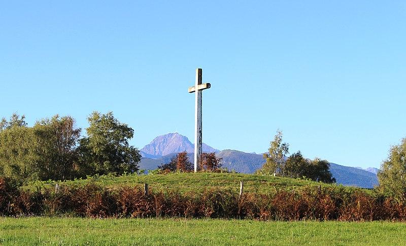 Photo du Monument Historique Tumulus dit La Croix-La Botte et cinq tumuli situé à Tilhouse