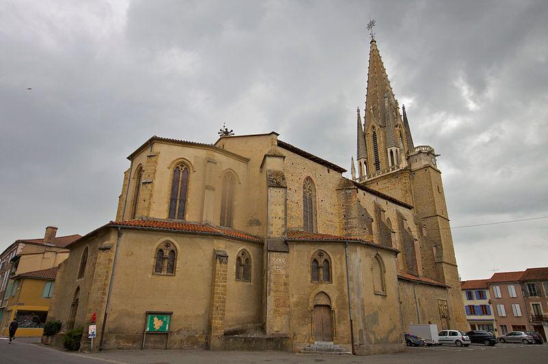 Photo du Monument Historique Eglise situé à Trie-sur-Baïse