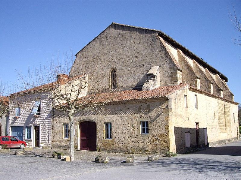 Photo du Monument Historique Ancienne église des Carmes situé à Trie-sur-Baïse