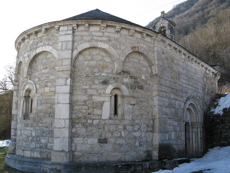 Photo du Monument Historique Chapelle d'Agos situé à Vielle-Aure