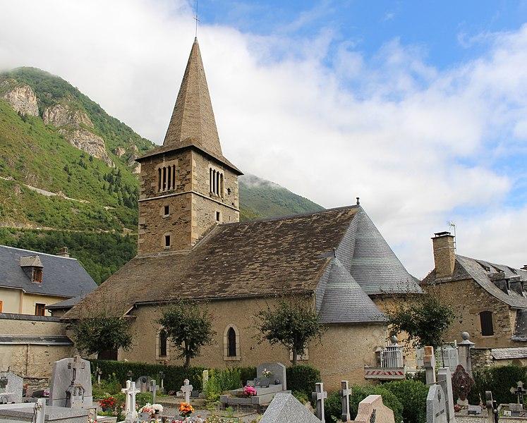 Photo du Monument Historique Eglise Saint-Barthélémy situé à Vielle-Aure