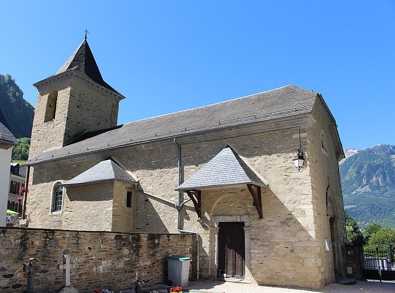 Photo du Monument Historique Eglise Saint-Michel situé à Viella