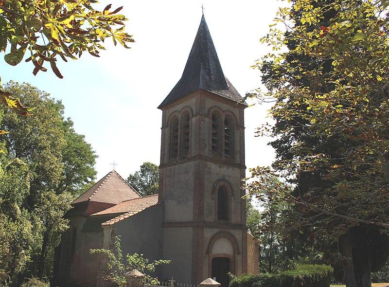 Photo du Monument Historique Eglise Saint-André situé à Soublecause