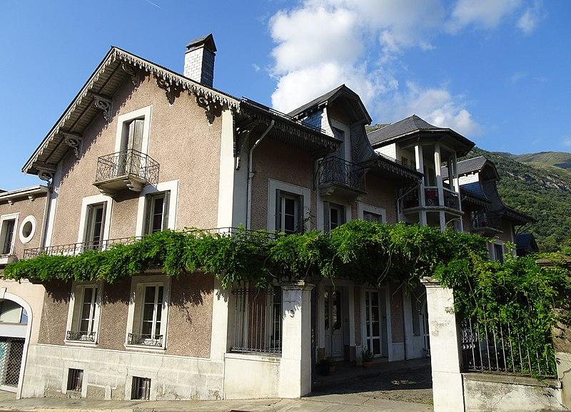 Photo du Monument Historique Maison Druène situé à Luz-Saint-Sauveur