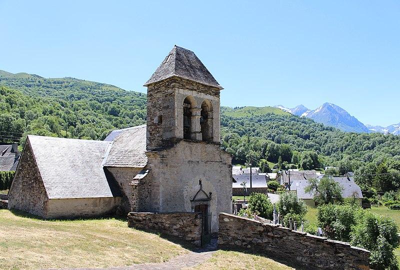 Photo du Monument Historique Eglise Saint-Felix situé à Armenteule