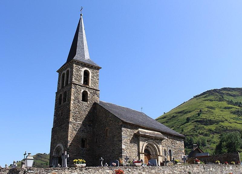 Photo du Monument Historique Eglise Notre-Dame de l'Assomption situé à Azet