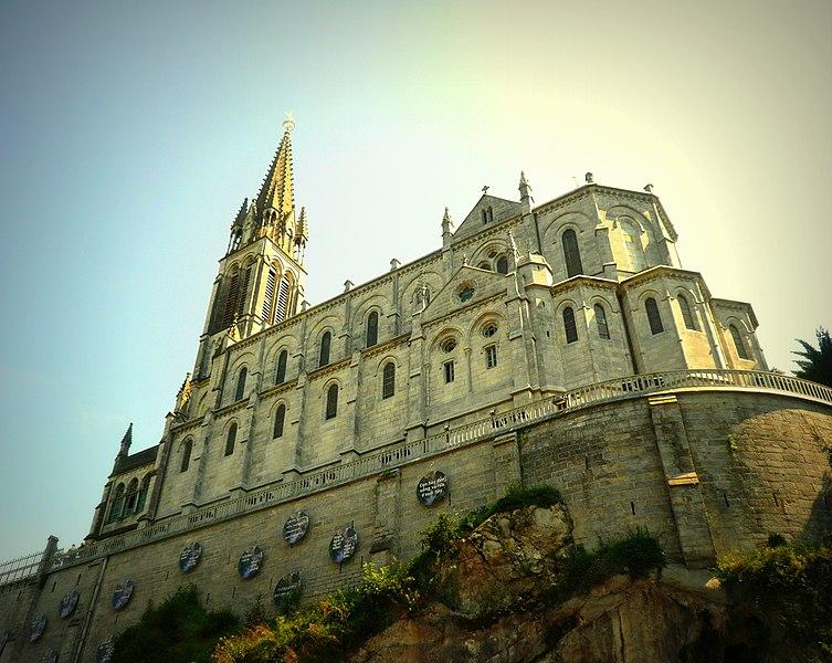 Photo du Monument Historique Domaine du sanctuaire de Lourdes situé à Lourdes