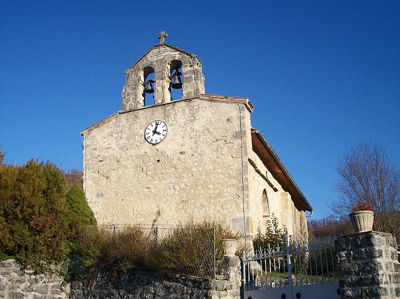 Photo du Monument Historique Eglise Saint-Vincent situé à Samuran