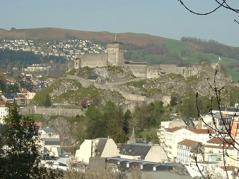 Photo du Monument Historique Château fort situé à Lourdes