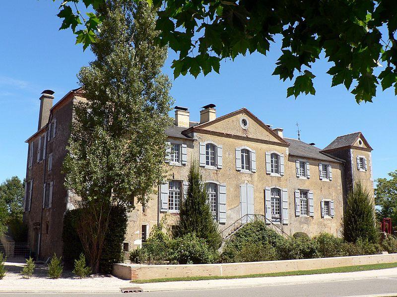 Photo du Monument Historique Château situé à Gardères
