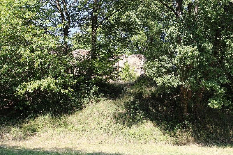 Photo du Monument Historique Site archéologique de la motte castrale de Hagedet situé à Hagedet