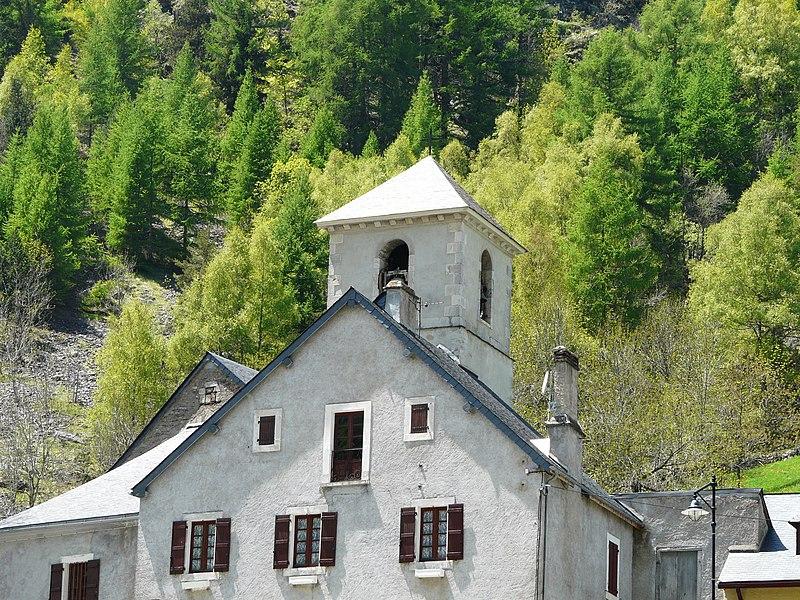 Photo du Monument Historique Eglise Notre-Dame du Bon Port de Gavarnie situé à Gavarnie
