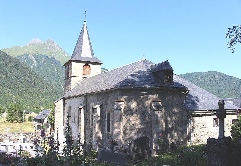 Photo du Monument Historique Eglise Saint-Michel situé à Bazus-Aure
