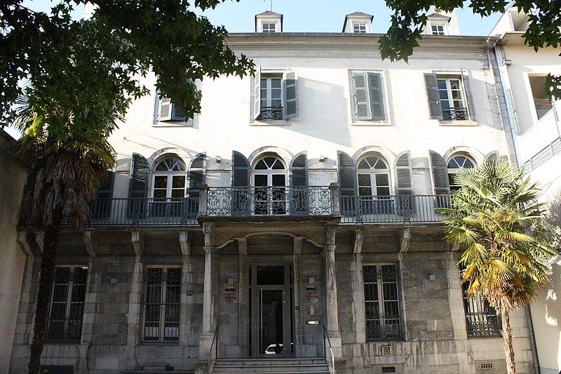 Photo du Monument Historique Maison dite de la Semi situé à Tarbes