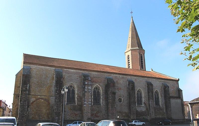 Photo du Monument Historique Eglise Saint-Louis situé à Rabastens-de-Bigorre