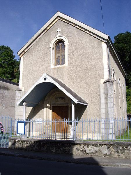 Photo du Monument Historique Temple protestant situé à Bagnères-de-Bigorre