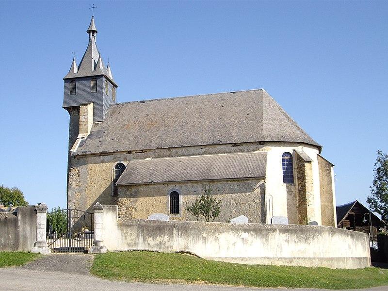 Photo du Monument Historique Église Saint-Martin situé à Orignac