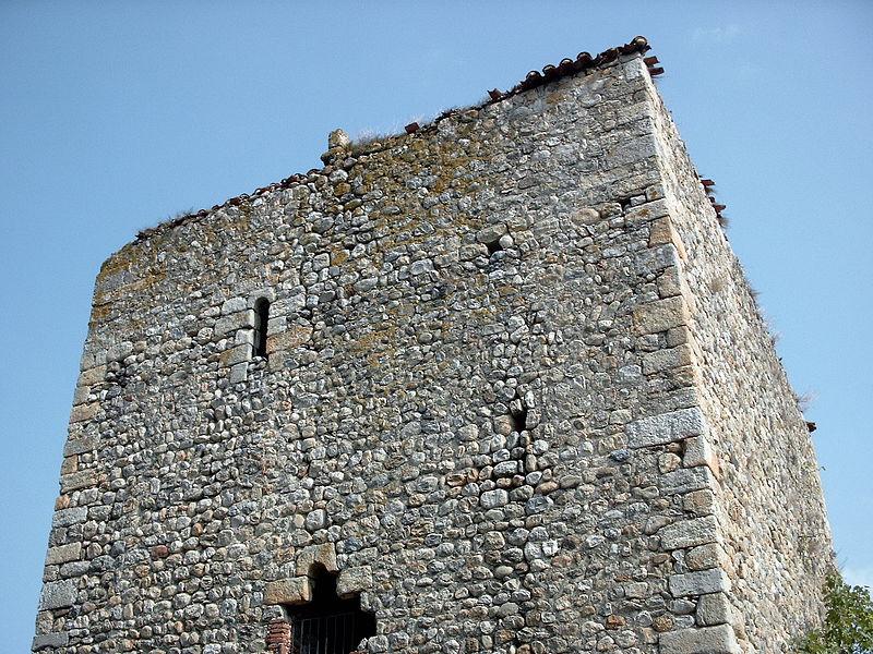 Photo du Monument Historique Ancien château de Pujols situé à Argelès-sur-Mer